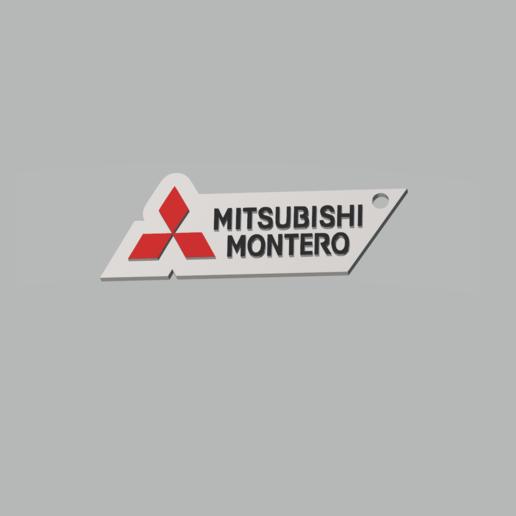 Descargar STL Mitsubishi Montero keychain, 3dhermanosarg