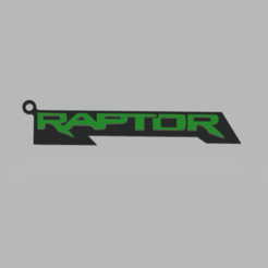 Download 3D printing designs Ford Raptor Keychain, 3Leones
