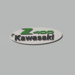 este.png Download 3MF file Kawasaki Z400 Keychain • 3D printer design, 3Leones