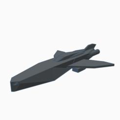BSShip.png Télécharger fichier STL gratuit Simple Spaceship 2 • Objet pour impression 3D, wahlentom
