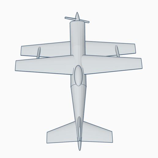Biplane2.png Télécharger fichier STL gratuit Biplans de course • Modèle à imprimer en 3D, wahlentom