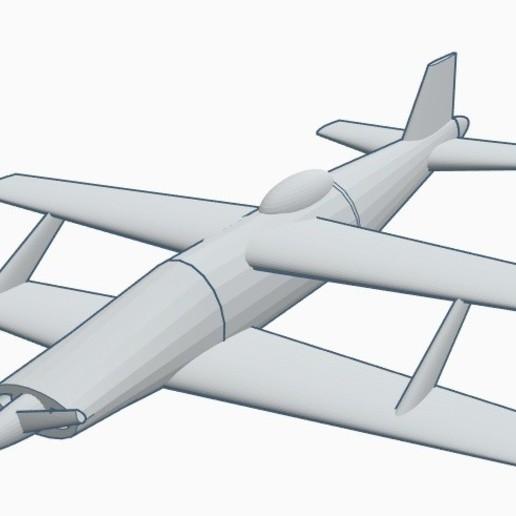 Biplane.jpg Télécharger fichier STL gratuit Biplans de course • Modèle à imprimer en 3D, wahlentom