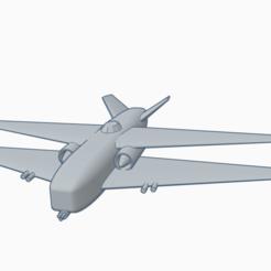 Heavy biplane.png Télécharger fichier STL gratuit Attaquant biplan lourd • Objet à imprimer en 3D, wahlentom