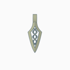 helix.png Download free STL file Arrowhead Helix Pendle • 3D print object, wahlentom