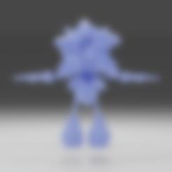 SONIC3.stl Télécharger fichier STL gratuit Sonic • Objet pour impression 3D, NathanFrn