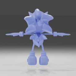 Download free STL file Sonic • 3D printable design, NathanFrn
