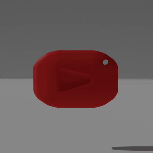 Download free STL Youtube keychain, NathanFrn