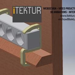 plug-mount-perpective-view.jpg Télécharger fichier STL Montage enfichable-25-48 • Plan pour imprimante 3D, iTEKTUR