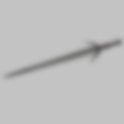 Descargar modelo 3D Espada de plata de la bruja (para los monstruos), Asgardian_Armoury
