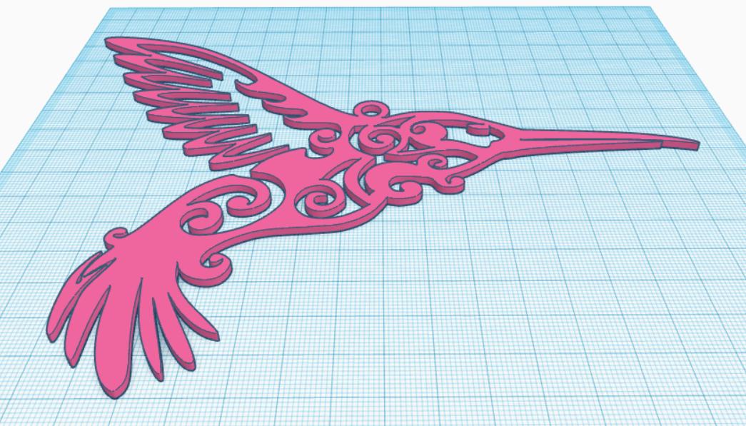 colibri2.PNG Télécharger fichier STL Colibri • Design pour impression 3D, bvhephotographie