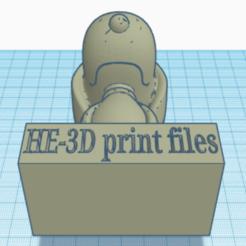 Télécharger fichier STL gratuit Snoopy modifier avec support • Modèle à imprimer en 3D, bvhephotographie
