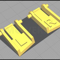 Télécharger fichier impression 3D gratuit Pieds Clavier Logitech G15, Seb0003