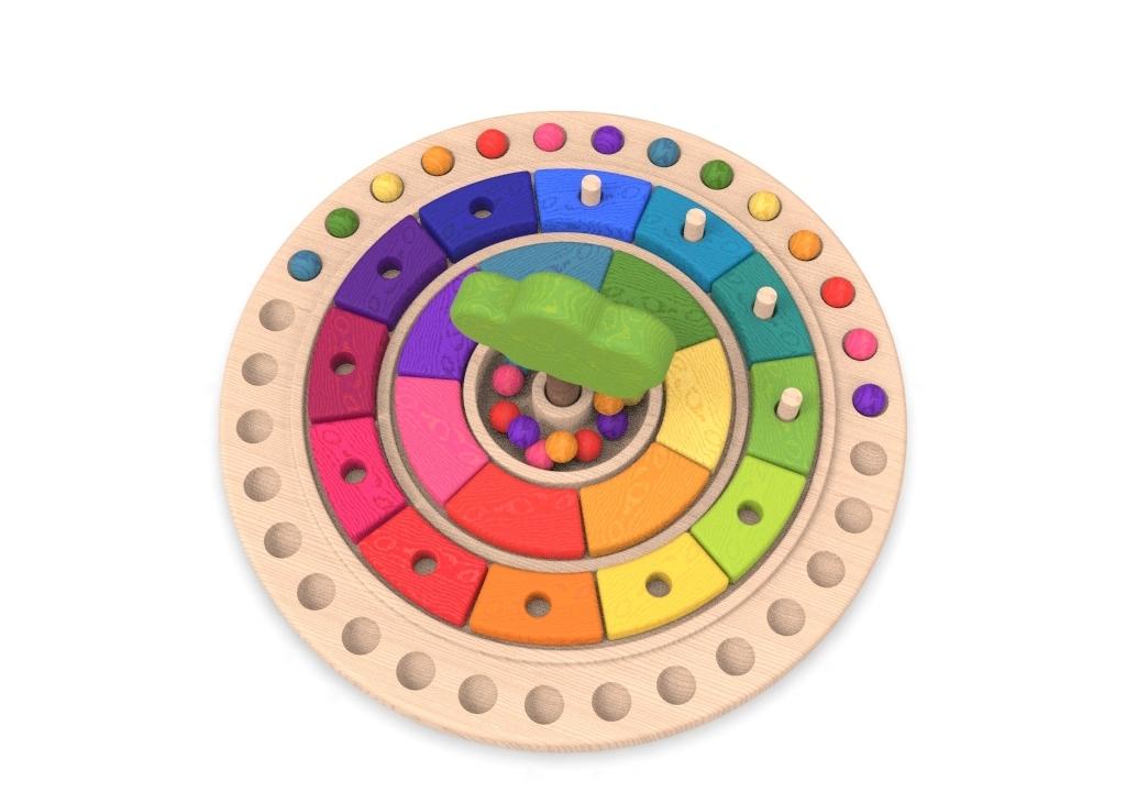 9.jpg Download free STL file Waldorf calendar toy • 3D printing object, llun_artes