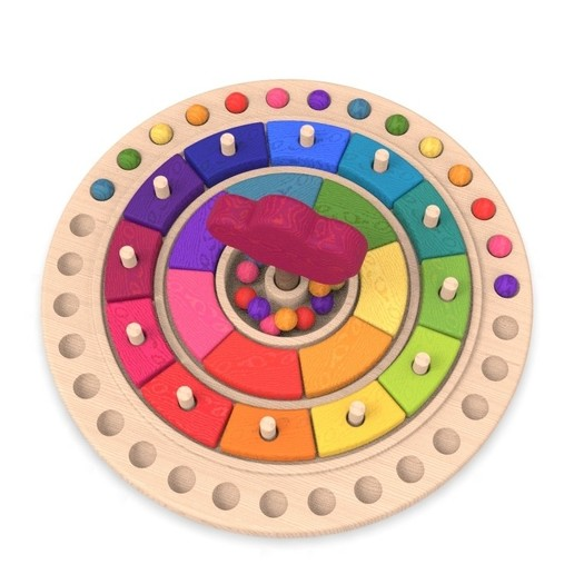 11.jpg Download free STL file Waldorf calendar toy • 3D printing object, llun_artes