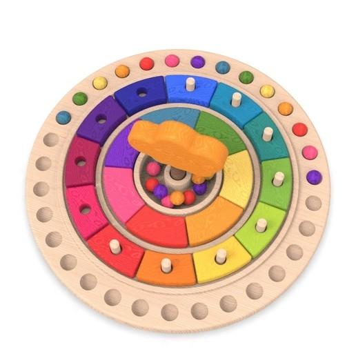 10.jpg Download free STL file Waldorf calendar toy • 3D printing object, llun_artes