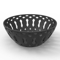 bowl.6.jpg Download free STL file fruit bowl • 3D printing model, llun_artes