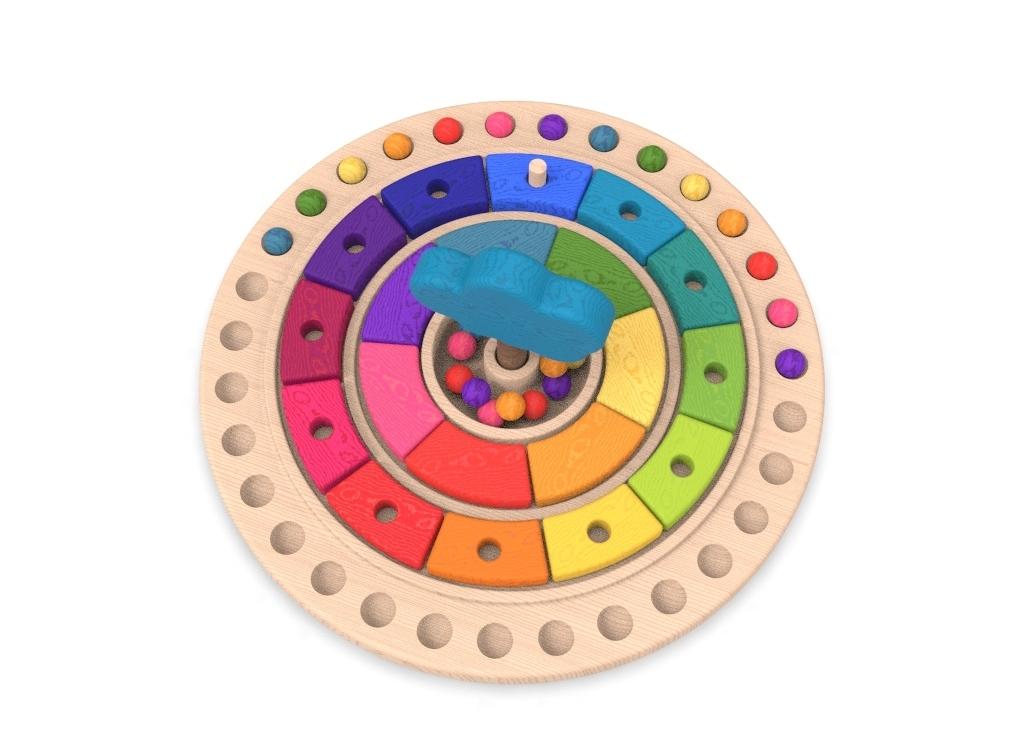 8.jpg Download free STL file Waldorf calendar toy • 3D printing object, llun_artes