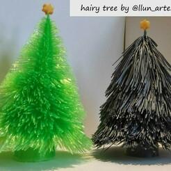 arboles.jpeg Télécharger fichier STL gratuit arbre poilu avec étoile • Objet pour imprimante 3D, llun_artes