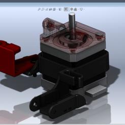 Stepper_Cable_Bracket_assy2.png Télécharger fichier STL gratuit Creality Ender 3 Support de chaîne à câble pas à pas (Heavy Duty) V2 • Plan pour imprimante 3D, i_just_ride
