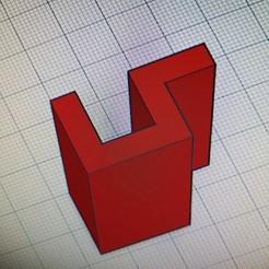 IMG_20191220_134417.jpg Download STL file Glashalter 10mm Glas • 3D printer model, saschaklohs