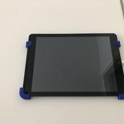 IMG_0086.jpeg Télécharger fichier STL Support mural pour iPad (air) • Objet à imprimer en 3D, Masterpants