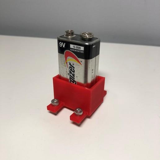 IMG_1244 4.jpg Télécharger fichier STL gratuit Support for 9v battery • Objet imprimable en 3D, LF3D_