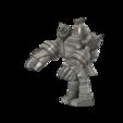 Golurk_Pokemon_SLA_v5.png Télécharger fichier STL gratuit Golurk Pokemon (ゴルーグ Goruugu) • Objet pour imprimante 3D, Jangie