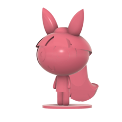 Blossom Power Puff girl SLA v4.png Download free STL file Blossom Powerpuff Girls • 3D print template, Jangie