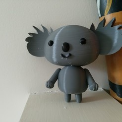 Download free STL file Koala (from the Pucca anime series) MMU • 3D printing model, Jangie