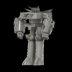 RoboDexo3000 SLA v4.png Download free STL file Robo Dexo 3000 (Robot from Dexter's Laboratory) • 3D printable template, Jangie