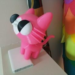 IMG_20200204_174954.jpg Download free STL file Yani Cat (Pucca) • 3D printable object, Jangie