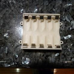 P1020161.JPG Télécharger fichier STL gratuit Mon boîtier de piles personnalisé pour 5 piles AA • Plan imprimable en 3D, Jangie