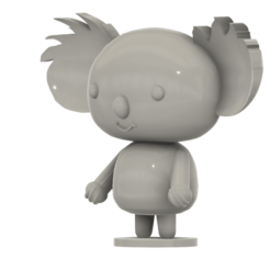 Download free STL file Koala (from the Pucca anime series) • 3D printer template, Jangie