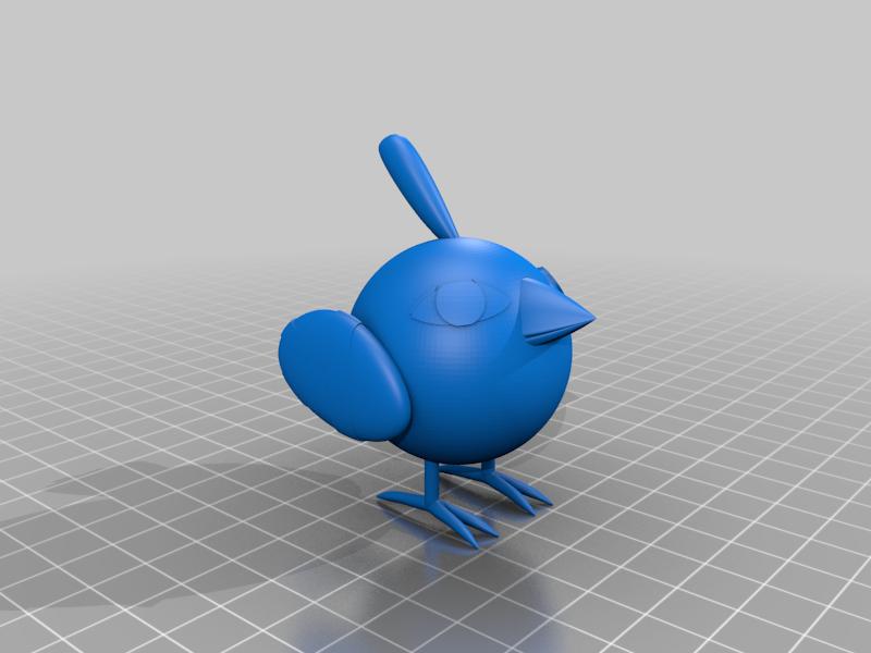 Natu_Pokemon.png Télécharger fichier STL gratuit Natu Pokemon (ネイティ Neiti) • Plan à imprimer en 3D, Jangie