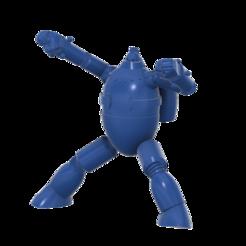 Gigantor_new_SLA_v7.png Download free STL file Gigantor (鉄人28号Tetsujin Nijūhachi-gō) robot • 3D printable model, Jangie