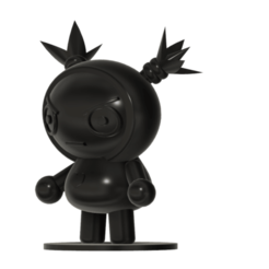 Download free 3D printing designs Garu from the Pucca anime cartoon show, Jangie