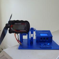 P1020286.JPG Télécharger fichier STL gratuit Ajouter un Turnigy Tacho / Tachymètre à un banc de mesure de la poussée Turnigy • Modèle pour impression 3D, Jangie