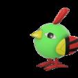 Télécharger modèle 3D gratuit Natu Pokemon (ネイティ Neiti), Jangie