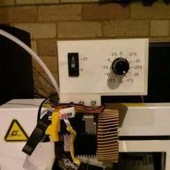 Download free 3D printing models Up Plus 2 3D Printer Temperature Controller Mod, Jangie