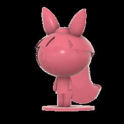 Blossom_Power_Puff_girl_SLA_v4.png Download free STL file Blossom Powerpuff Girls • 3D print template, Jangie