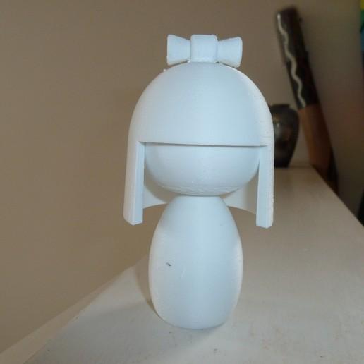 Télécharger fichier STL gratuit Poupée japonaise II (ningyo 2) 人形 • Design pour impression 3D, Jangie