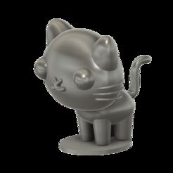 Impresiones 3D gratis Gato Mio (PUCCA), Jangie