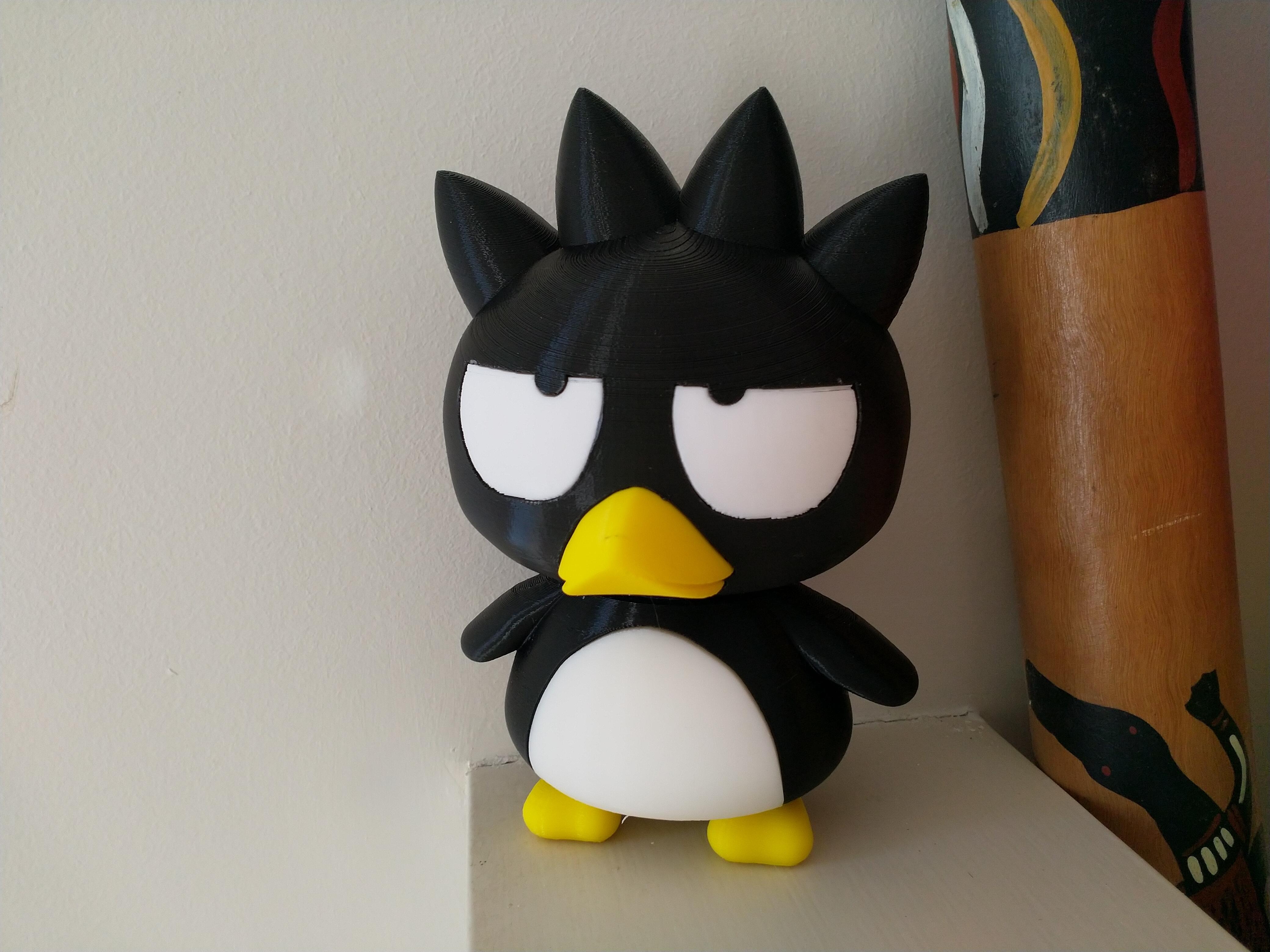IMG_20200211_085747.jpg Download free STL file Badtz-Maru (バッドばつ丸, Baddo Batsu Maru) • 3D printable design, Jangie