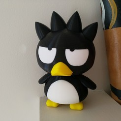 Download free 3D printer model Badtz-Maru (バッドばつ丸, Baddo Batsu Maru), Jangie