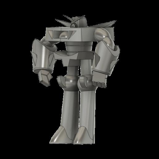 RoboDexo3000_SLA_v4.png Télécharger fichier STL gratuit Robo Dexo 3000 (Robot du laboratoire de Dexter) • Objet imprimable en 3D, Jangie