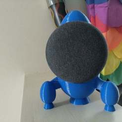 Download free STL Mars Rocket Google Mini holder, Jangie