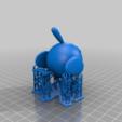 Natu_Pokemon_supports.png Télécharger fichier STL gratuit Natu Pokemon (ネイティ Neiti) • Plan à imprimer en 3D, Jangie