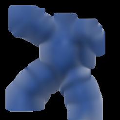 Gigantor.stl Télécharger fichier STL gratuit Gigantor (鉄人28号Tetsujin Nijūhachi-gō) robot • Objet à imprimer en 3D, Jangie