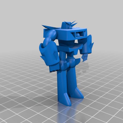 Robo_Devo_3000.png Télécharger fichier STL gratuit Robo Dexo 3000 (Robot du laboratoire de Dexter) • Objet imprimable en 3D, Jangie