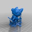 Yani_Cat_supports.png Télécharger fichier STL gratuit Chat Yani (Pucca) • Objet imprimable en 3D, Jangie